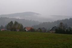 Vesser wolkenverhangen
